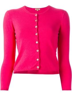 P.A.R.O.S.H. - Round Neck Cardigan Sweater