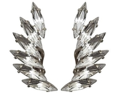 Shay Accessories - Crystal Clip Ear Crawlers