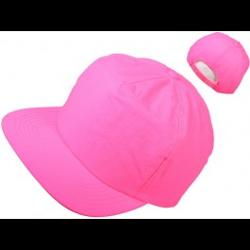 Rave Nation - Neon Pink 5 Panel SnapBack Hat