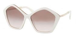 Miu Miu - Ivory Opal Beige Sunglasses