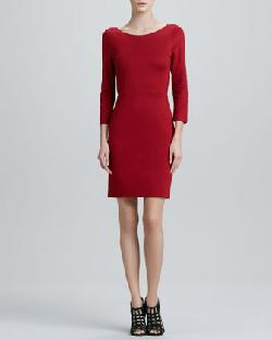 Alice + Olivia Caro  - 3/4-Sleeve Dress