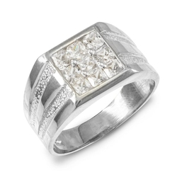 Fine Jewelry - Perfect Square Top Invisible Ring