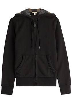 Burberry Brit - Zipped Cotton Hoody Jacket