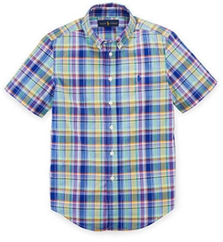 Ralph Lauren - Plaid Cotton Poplin Shirt