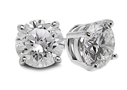 Diamond Studs Forever  - Diamond Studded Earrings