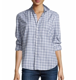 Frank & Eileen - Eileen Check Button-Front Shirt