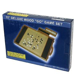 John N. Hansen Co. - Deluxe Wood Go Game Set