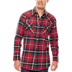 Ely Cattleman - Flannel Snap Shirt