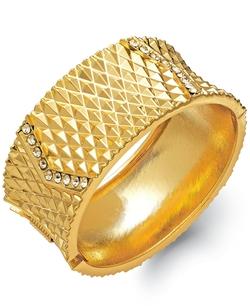 INC International Concepts - Pavé Hinge Bangle Bracelet