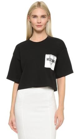 Moschino - Shopping Crop T-Shirt