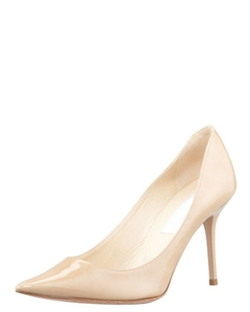 Jimmy Choo  - Agnes Pointed-Toe Patent Pumps