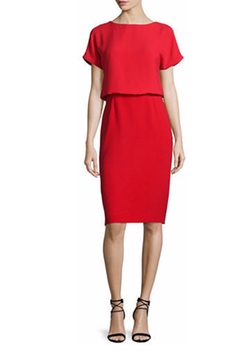 Lafayette 148 New York - Gwen Short-Sleeve Popover Dress