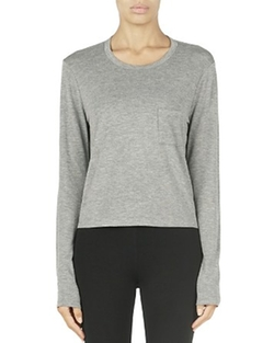 T by Alexander Wang - Classic Cropped Tee