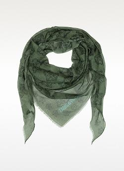 Zadig & Voltaire  - Mini Kerry Wolf Modal Triangle Scarf