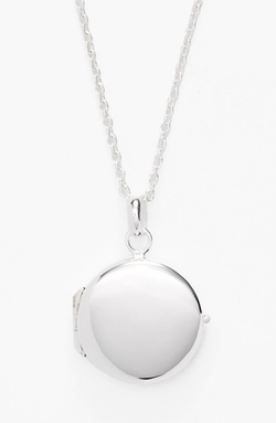 Argento Vivo  - Circle Locket Necklace