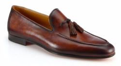 Saks Fifth Avenue Collection  - Crecente Leather Tassel Loafers