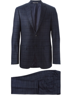 Canali   - Two-Piece Plaid Suit