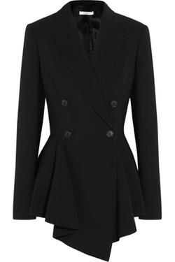 Givenchy  - Crepe Peplum Blazer