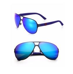 Gucci - Metal Navigator Sunglasses
