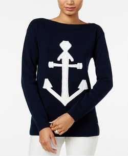 Tommy Hilfiger  - Mindy Anchor Graphic Sweater