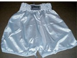 Amber - Boxing Shorts In Solid White
