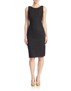 Marc New York Andrew Marc - Textured Sheath Dress