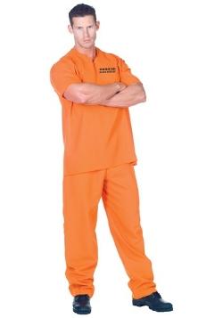 Police Uniform - Public Offender Prison Inmate Costume