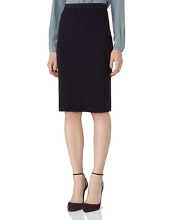 Reiss  - Dalane Ribbed Pencil Skirt
