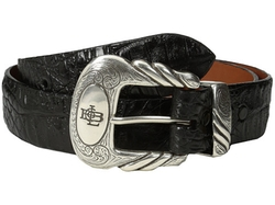 Lucchese - Hornback Caiman Leather Belt