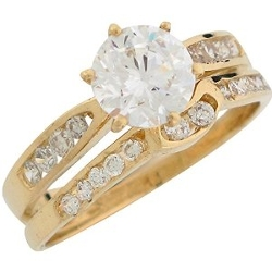 Jewelry Liquidation - Ladies Wedding Set Duo Rings
