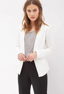 Forever21 - Tailored Woven Blazer