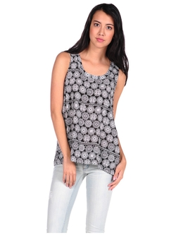 Gentle Fawn  - Shift Lace Tank Top