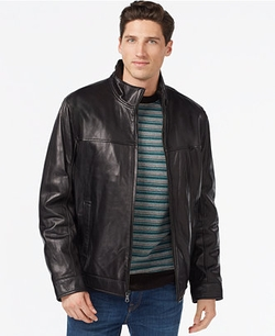 Tommy Hilfiger - Smooth Leather Jacket