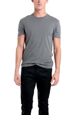 Spurr by Simon Spurr  - Plain Tee in Grey Price: