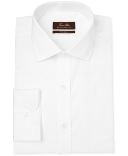 Tasso Elba - Non-Iron Twill Solid Dress Shirt
