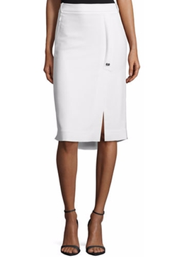 Halston - Heritage High-Low Pencil Skirt