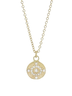 Adel Chefridi  - Shimmer Pendant With Diamonds