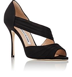 Manolo Blahnik - Treuil Asymmetric-Strap Sandals