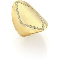 ILA - Phineas Diamond &  Yellow Gold Ring