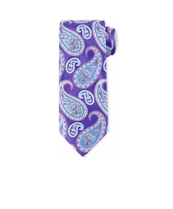 Ermenegildo Zegna - Large Pine Paisley-Print Tie