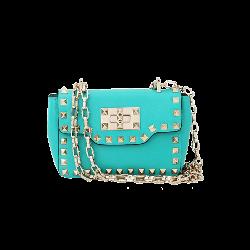 Valentino  - Rockstud Small Chain Flap Bag
