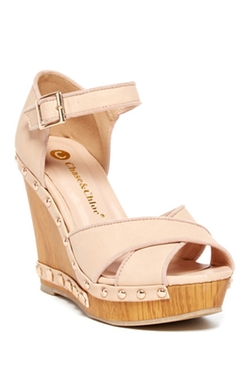 Chase & Chloe - Milan Wedge Sandals