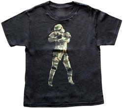 Mad Engine - Camouflage Black T-Shirt