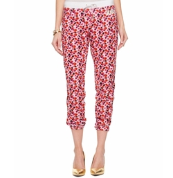 Juicy Couture - Micro Terry Marina Floral Pants
