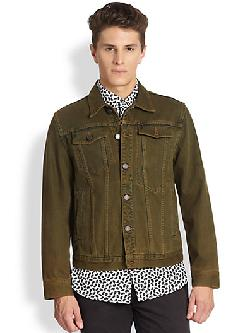 Marc Jacobs  - Overdyed Denim Jacket