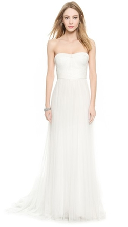 Monique Lhuillier  - Emanuela Sweetheart Gown