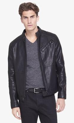 Express - (Minus The) Leather Biker System Jacket