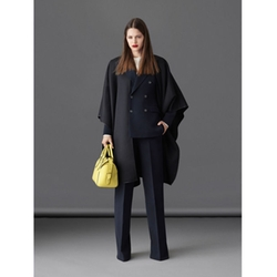 Bally - Black Wool Cape