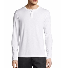 Theory - Gaskell Anemone Henley T-Shirt