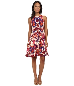 Donna Morgan - Rayon Fit And Flare Dress